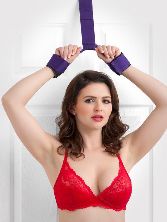 Purple Reins Over-the-Door Restraint