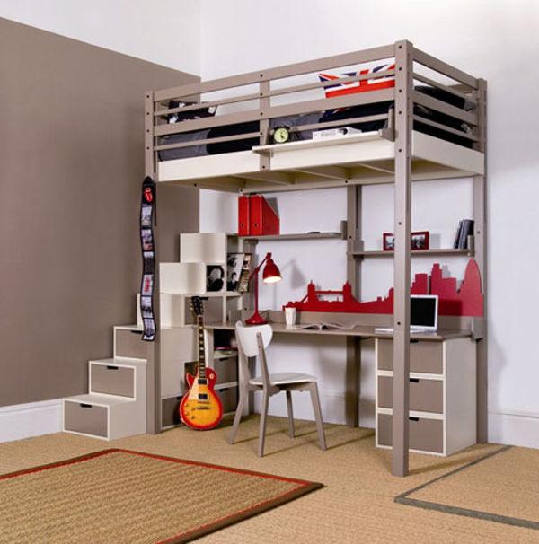 Unique Loft Beds For Adults Design Ideas  InOutInterior