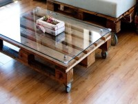 Diy Coffee Table Glass Top