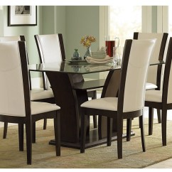 Dining Table Set 6 Chairs Clam Shell Chair Stylish Sets For Room  Inoutinterior