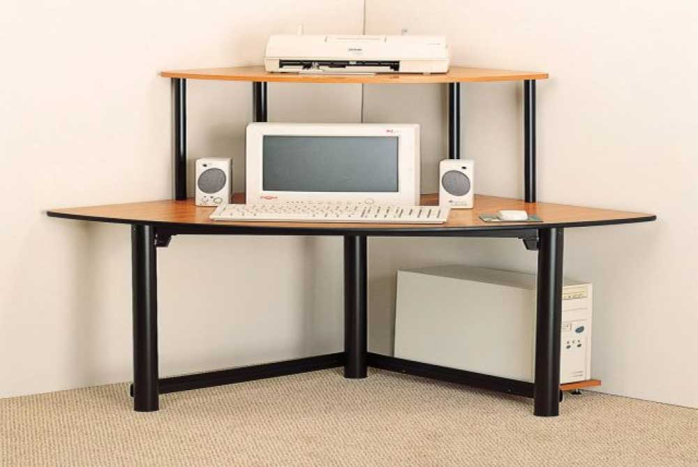 Corner Computer Desk » InOutInterior