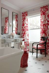 10 Modern Bathroom Window Curtains Ideas  InOutInterior