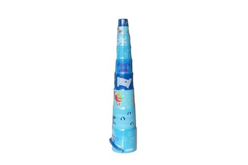 Stapelbecher (8er) blau