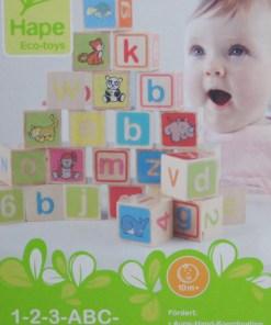 Holzspielzeug ABC