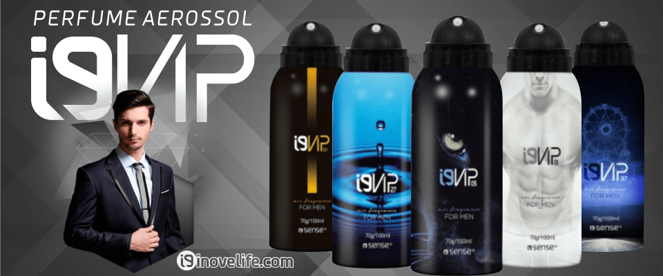 perfumes i9vip aerossol masculino