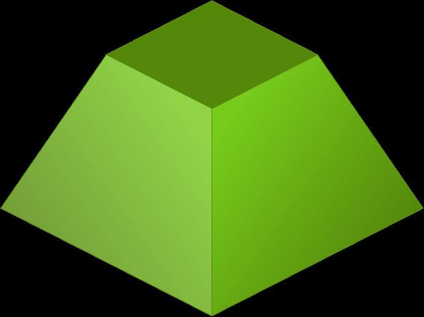 Piramide nota de corpo