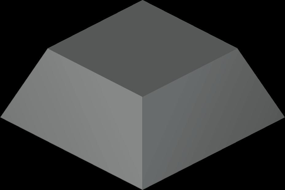 Piramide nota de fundo