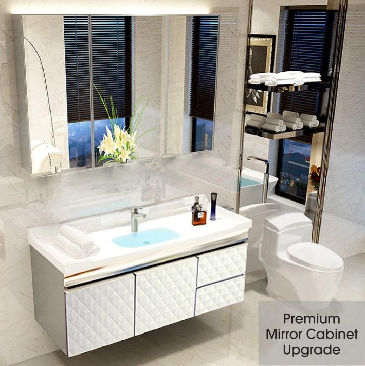 Premium Mirror Cabinet Upgrade