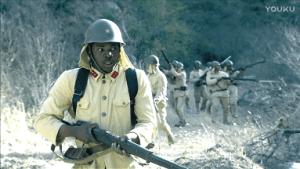 謎の黒人兵