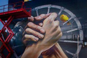 Mijnwerkers Mural