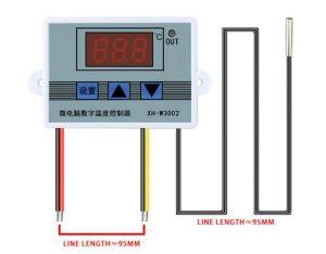 Цифровой регулятор температуры W3001