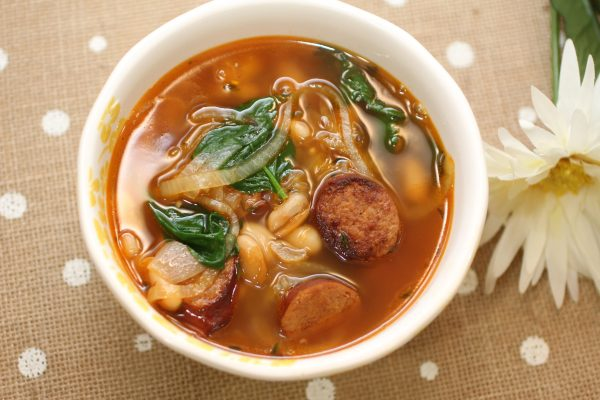 Chorizo and White Bean Soup