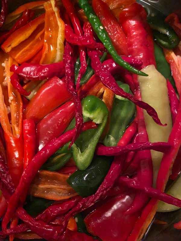 Peppers, Peppers and More Peppers