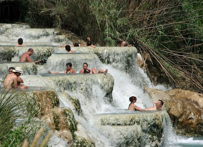 How to go to Saturnia hot springs from Perugia  The