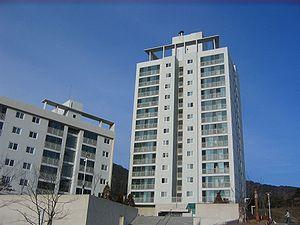 Dormitory at Pusan National University's Mirya...