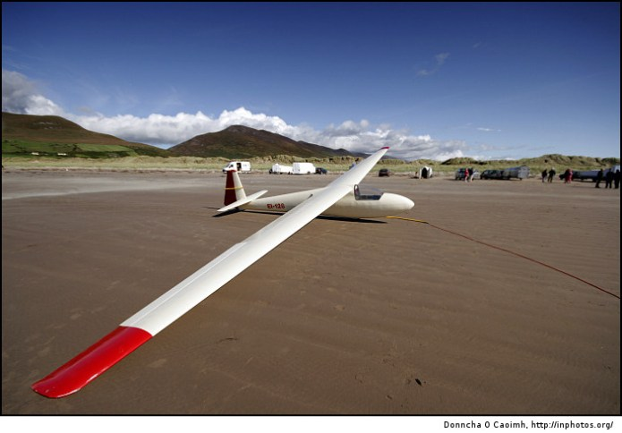 EI-128 at rest on the beach