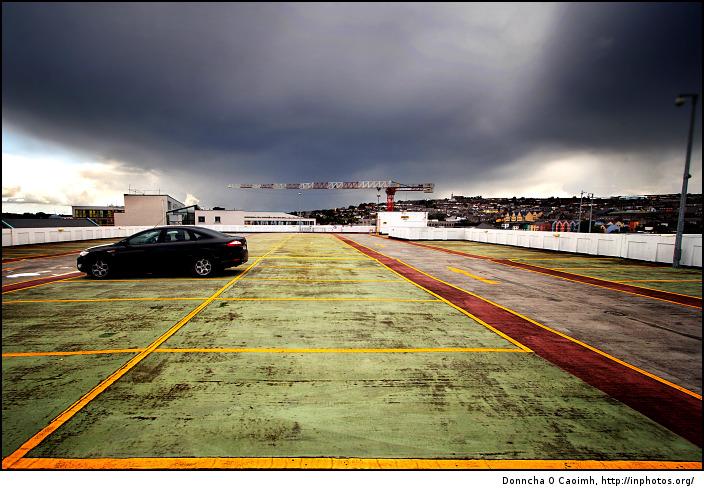 Cloudy Carpark