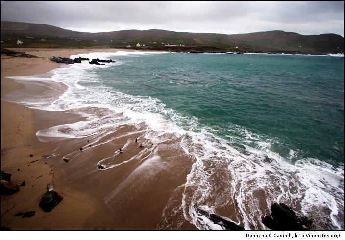 Waves on Allihies Beach
