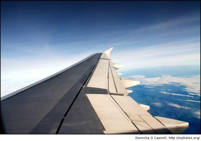 Flying back to Cork