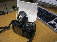 How to build a pop-up flash diffuser