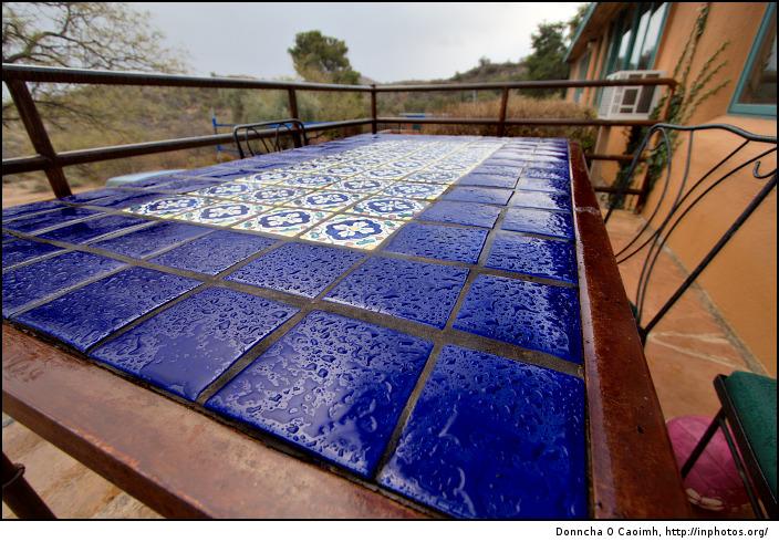 It even rains in Arizona