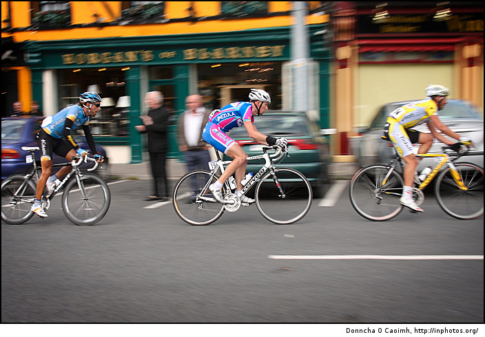 Tour of Ireland breakaway group