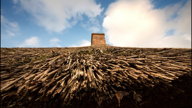 Thatched Roof in Bunratty