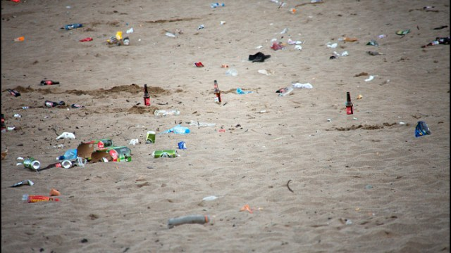 The rubbish tip that is Myrtleville Beach