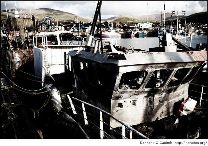 Abandoned Dingle Trawler