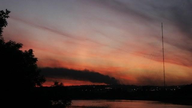 Smoke Over Cork City