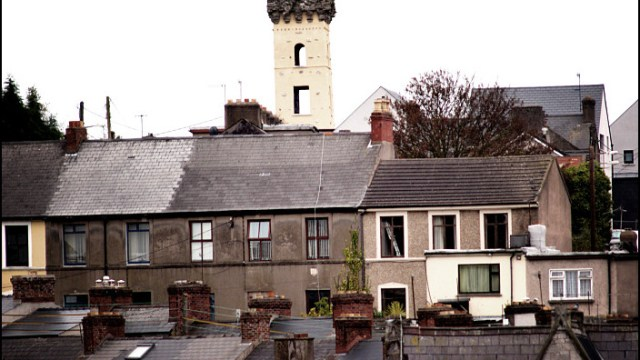 Towering over Cork City