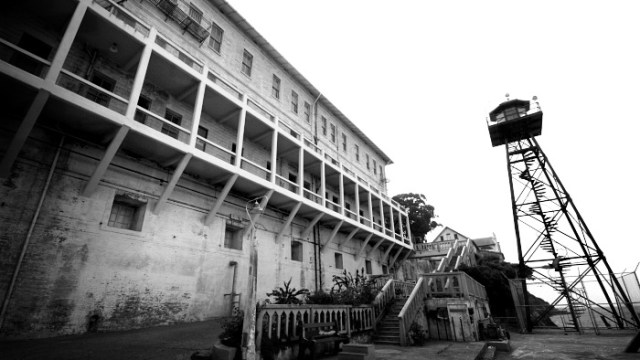 Alcatraz Tower and Prison