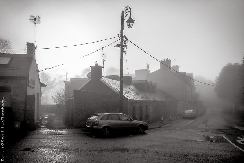 Morning Fog in Blarney