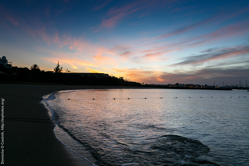 Sunrise in Playa Blanca