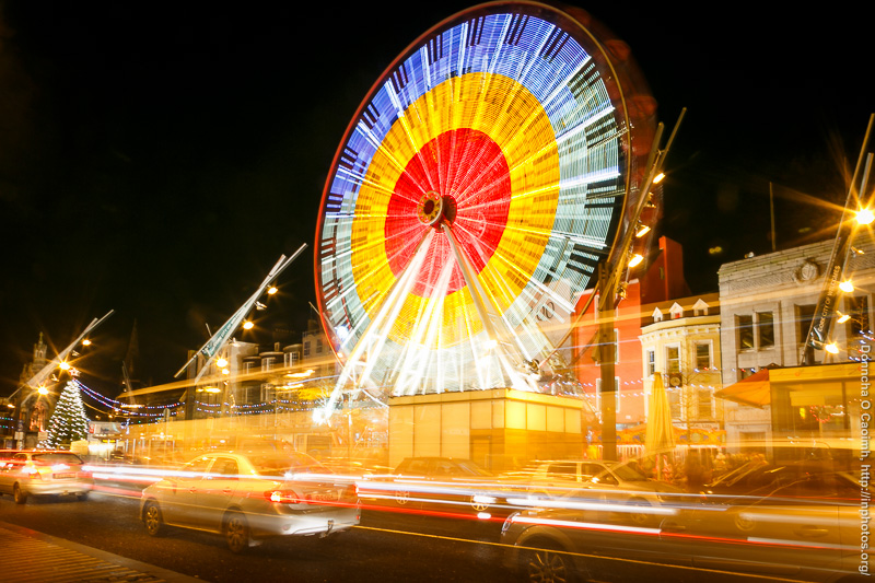 Rapid Transport on the Ferris Wheel