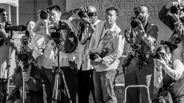 A Gaggle of Photographers