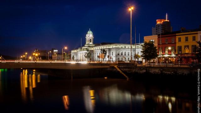 Cork City Hall at Night