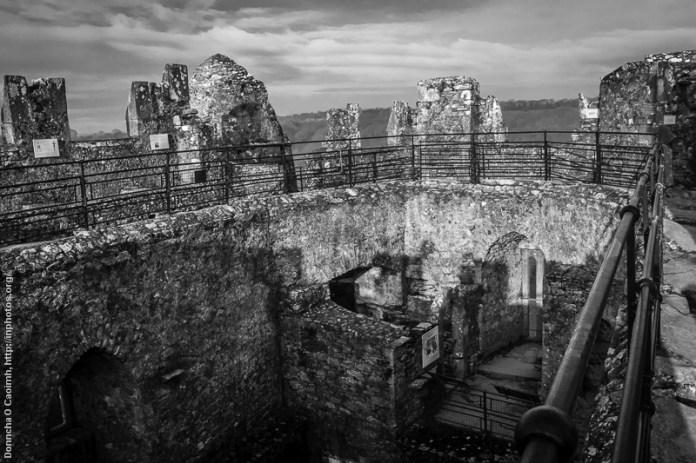 Top of Blarney Castle