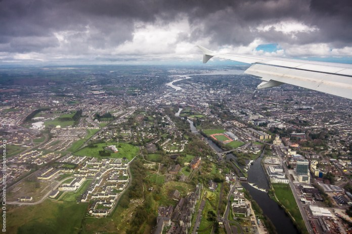 Cork from a Landing Plane