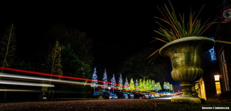 Light Trails in Blarney