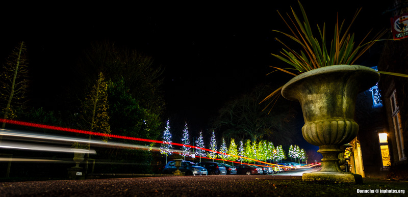 Light Trails in Blarney
