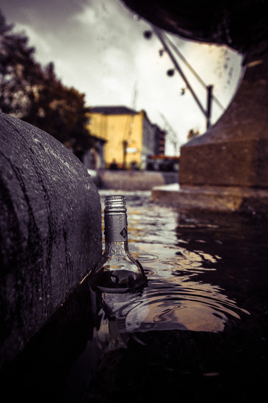 Bottle in the Fountain