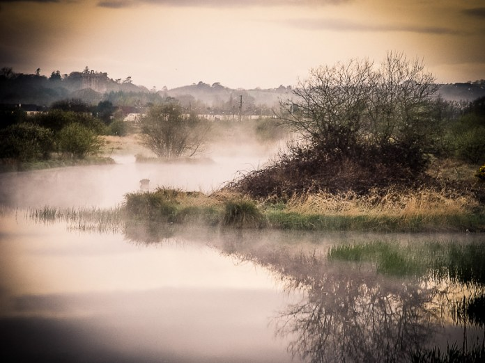Fog on the Water in Blarney