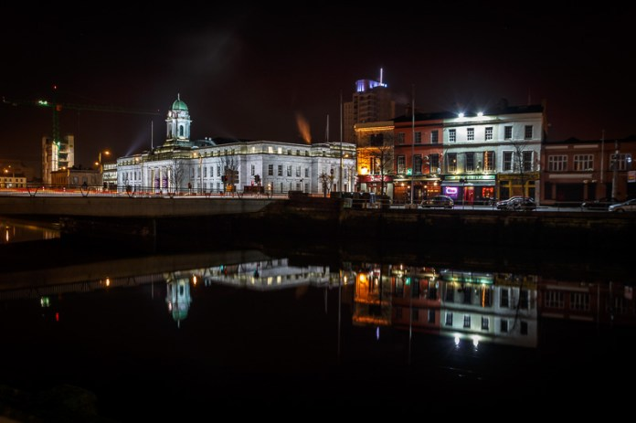 Cork City Hall on the River