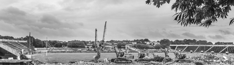 The demolition of Pairc Ui Chaoimh