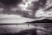 Clouds over Inch Beach