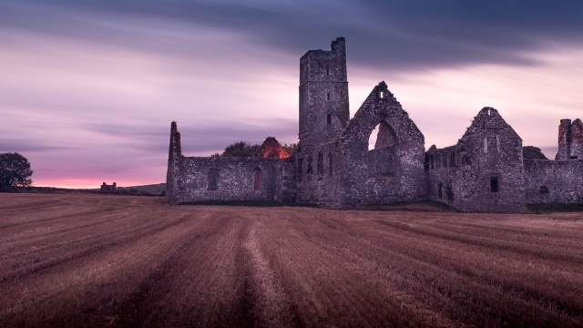 Kilcrea Friary at Sunset