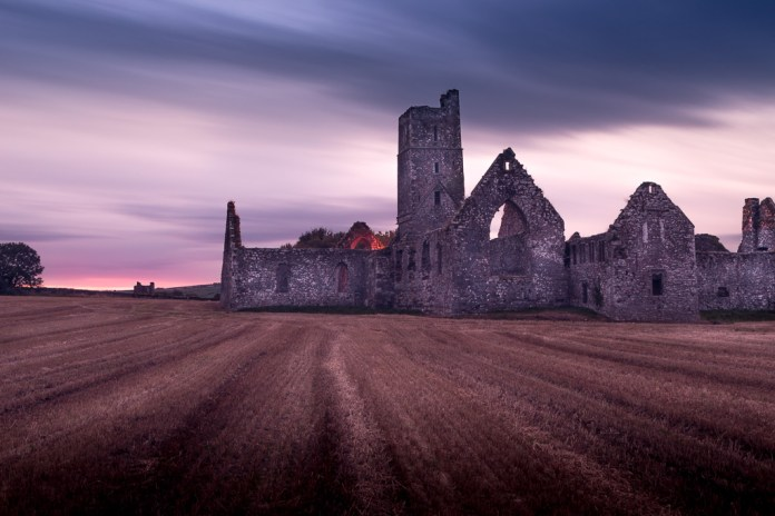 kilcrea-friary-at-sunset