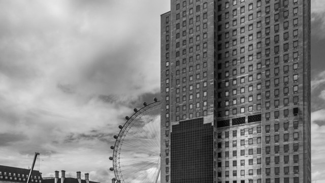 London Eye and Building