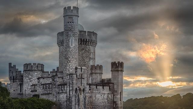 Blackrock Castle at Sunset